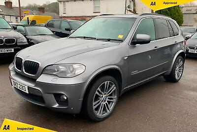 BMW X5 3.0 30d M Sport xDrive 5dr  BLUETOOTH, NAV, BLACK LEATHER
