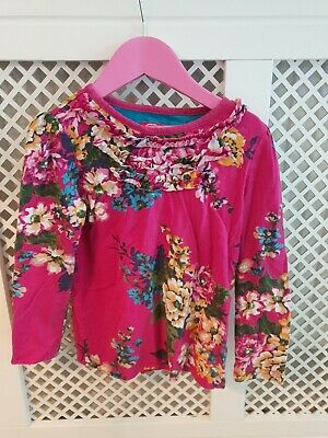 Joules Girls Top. Age 7