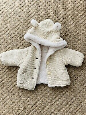 GAP Newborn Beige Cardigan