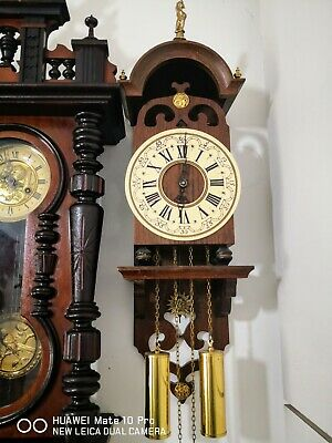 Dutch Wall Clock In Very Good Working Order