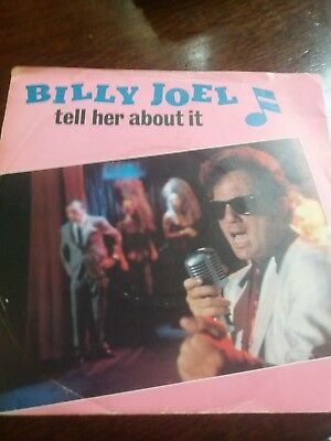 """Billy Joel Tell Her About It Vinyl Record 7""""single"""
