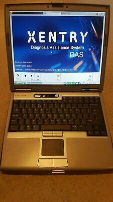 Mercedes MB Star Diagnostic DAS Xentry Dell laptop GOLDEN VERSION
