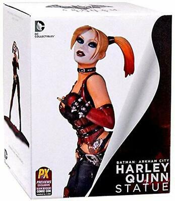 SDCC 2014 Exclusive Arkham City Harley Quinn Statue DC COLLECTABLES RARE