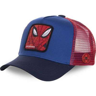 Official Marvel Spider-Man Snapback Avec Maille Yeux