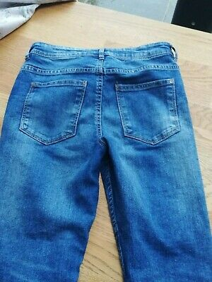 Boys' Next skinny blue jeans age 10 years