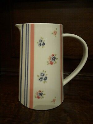 SALE A Beautiful Large Vintage Hand Painted Past Times Jug