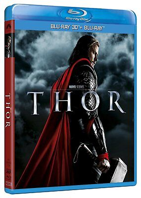 THOR Blu Ray 3D + Blu Ray MARVEL NEUF SOUS BLISTER