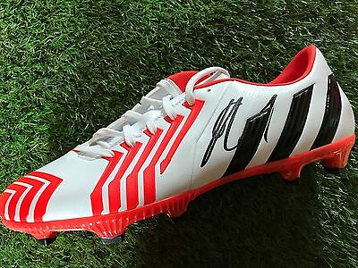 Robin Van Persie Hand Signed Football Boot Manchester United, Holland Proof 2.