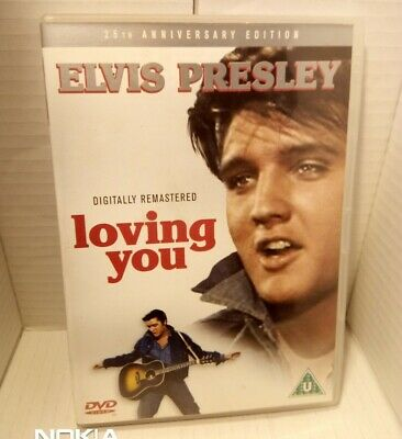 Elvis Presley - Loving You DVD * 25th Anniversary Edition * UK Region 2 *