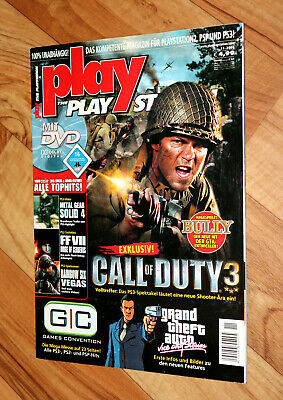 Playstation Magazin GTA Vice City Stories Kingdom Hearts II 2 Call of Duty 3