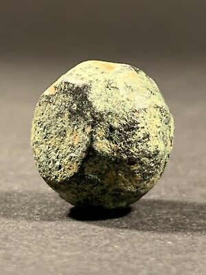 Ancient Viking Norse Decorated Bronze Polyhedral Trading Weight Circa 700-900Ad