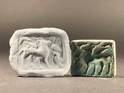 Museum Quality Ancient Roman Near Eastern Zoomorphic Bronze Seal - Circa 100 Ad