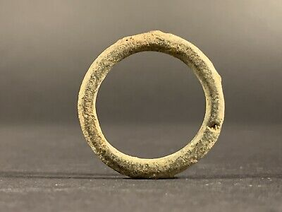 Ancient Celtic Bronze Proto Ring Money Ancient Currency - Circa. 100Bc-100Ad