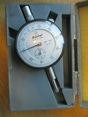 Mitutoyo  Dial Indicator 001- 400 0-50-0 Used Excellent condition