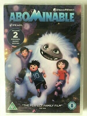 Abominable [DVD] NEW AND SEALED ,   FREE POST