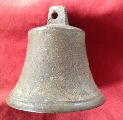Antique Victorian  Servants Bronze/Brass Bell / Doorbell