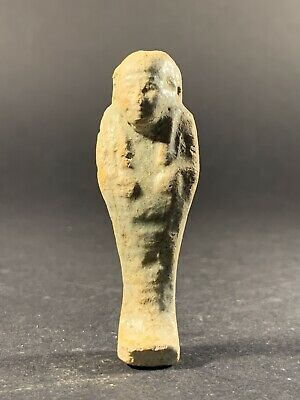 Ancient Egyptian Shabti Ushabti Funerary Afterlife Figurine Amulet - Circa 700Bc