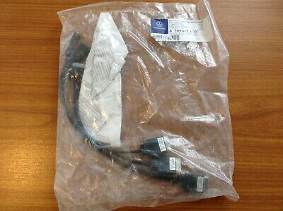 MERCEDES BENZ -Music-Media-Cable-leads-AUX-IPOD-IPHONE-USB- A1668270104