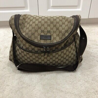 Unisex Baby Boys Baby Girls Authentic Gucci Nappy Changing Bag