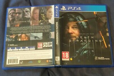 Death Stranding - PS4 - In Italiano - Copertina inglese