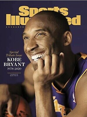 Kobe Bryant Sports Illustrated Magazine 2020 Special Tribute Issue La Lakers