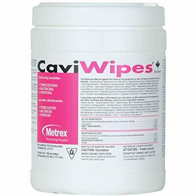 CaviWipes Metrex Disinfecting Towelettes Canister Wipes, 160 Count Industrial