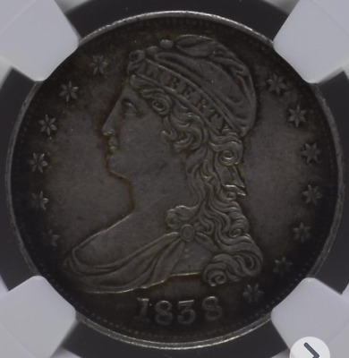 1838 Us coin 50 cent- Capped Bust Half Dollar NGC MS 61.