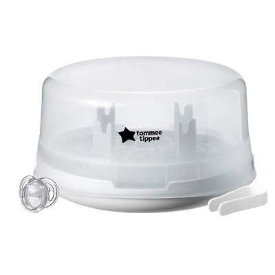 Tommee Tippee Closer to Nature Microwave Steam Steriliser, White