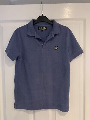 Boys Lyle And Scott Polo T-shirt Age 10-11 Years