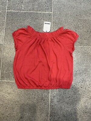 Next Girls Broderie Summer Top BNWT Age 6-7 Years