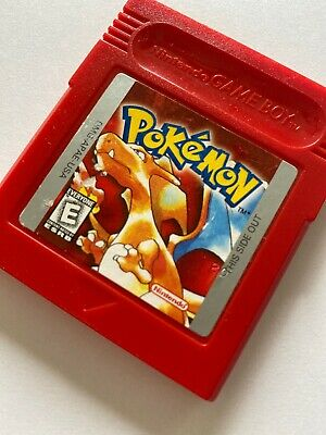 Nintendo Game Boy Color Pokemon Red Authentic Advance SP New Battery 🔋