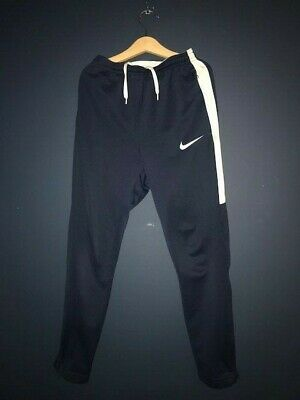 Girl's navy blue Nike tracksuit bottoms 10-12 years