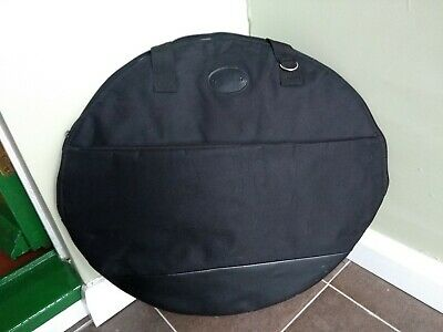 22 Inch Padded Cymbal Bag Case With Front Pocket.