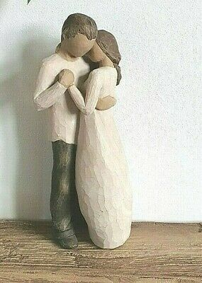 """Willow Tree~ Couple In Love """" The Promise """" Figurine Anniversary Wedding Gift"""