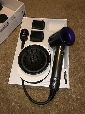 "**Brand New **Dyson Supersonic Hair Dryer * ""Exclusive Color"" HD01* Purple/Black"