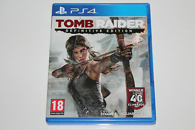 Tomb Raider - Definitive Edition PlayStation 4 , PS4 , PS 4