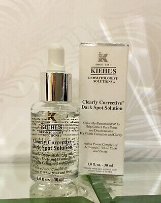 NEW Kiehl's Clearly Corrective Dark Spot Solution Serum 30ml Anti Aging