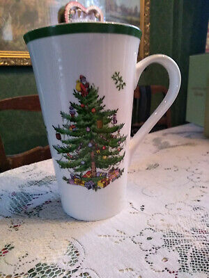 Spode Christmas Tree Large Latte Mug 0.59Ml New In Box Beautiful Stocking Filler