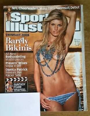 2008 Sports Illustrated Swimsuit Issue: Marisa Miller Cover + Danica Patrick!