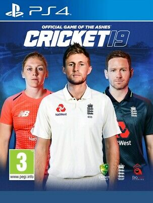 """NEW SEALED """"CRICKET 19""""  PS4 GAME (Official Video Game of the Ashes)UK FREEPOST!"""