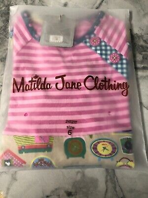 Matilda Jane Size 6 Make Believe In Disguise Tunic Top Size 6 NIB