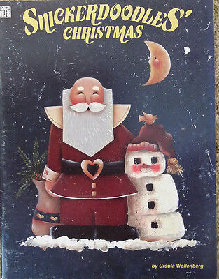 Snickerdoodles Christmas by Ursula Wollenberg Halloween Tole Painting Book RARE.