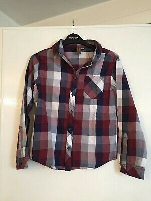Boys Urban Outlaws Checked Shirt Age 11 Years