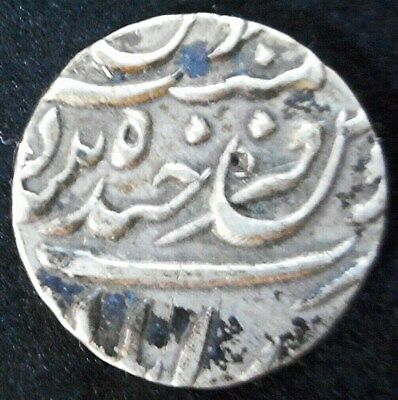 India-Hyderabad. Silver 1/2 rupee. AH1304 / 1886 AD. VF.
