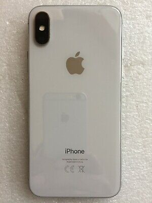 Apple iPhone X No Face ID 256GB UNLOCKED Silver - Used