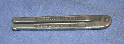 "JH Williams No. 482 adjustable face spanner 2"" size"