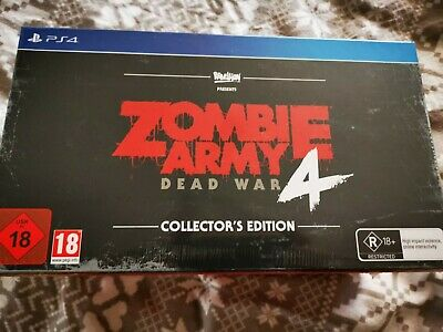 PS4 Zombie Army 4: Dead War Collectors Edition New Sealed (Sold Out)