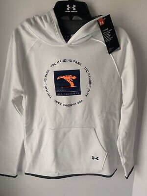 Nwt Under Armour Coldgear Youth Girls Hoodie Size Medium