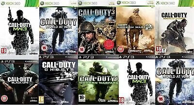 Various Call of duty games for Xbox 360 & PS3 from £1.99 per title - FREE POST