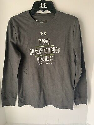 Nwt Under Armour Youth Long Sleeved T Shirt Size Medium